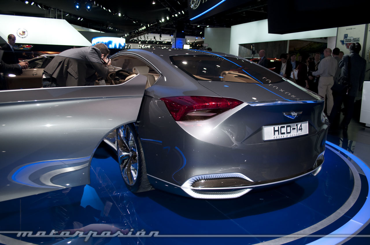 Foto de Hyundai HCD-14 Concept en el Salón de Detroit 2013 (3/7)