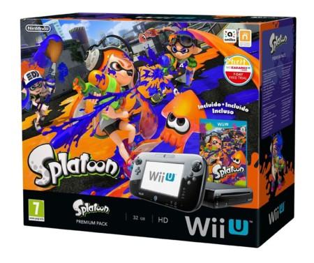 Pack de Splatoon más la consola Wii U
