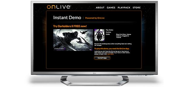 Onlive Google TV LG