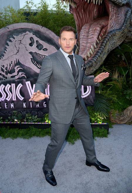 Chris Pratt Los Angeles Juraassic World Fallen Kingdom Red Carpet 3