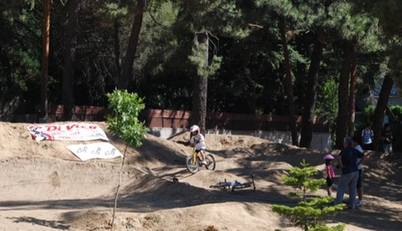 Anímate a llevar a los peques a practicar el bicicross