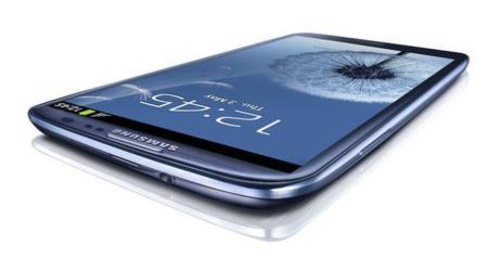 Test de caída: Samsung Galaxy S III
