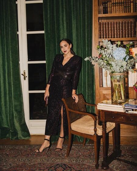 Tamara Falcó ha diseñado con su compañero de Masterchef Celebrity Juan Avellaneda la colección de fiesta para brillar (literalmente) esta Navidad