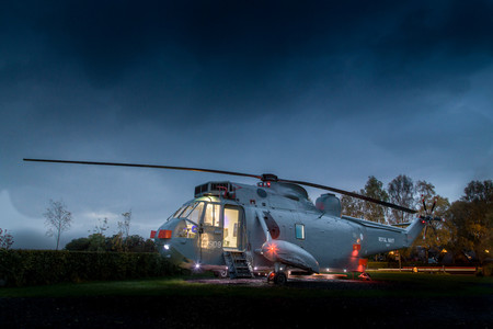 Helicopterglamping 7