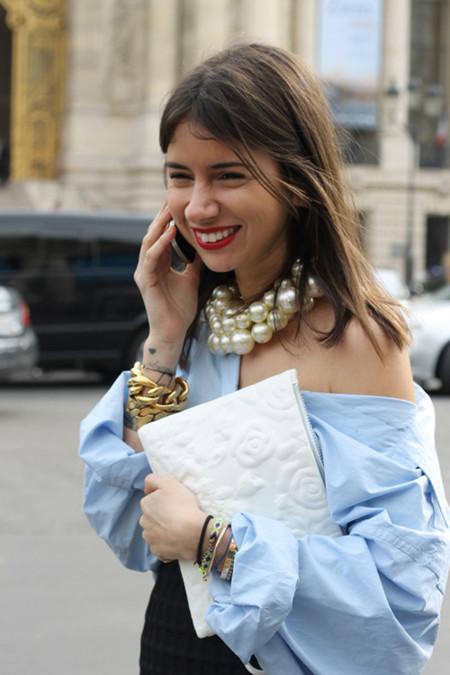 Maxi-collar de perlas de Chanel
