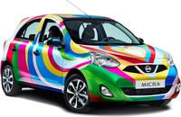 Así será el Nissan Micra Agatha Ruiz de la Prada