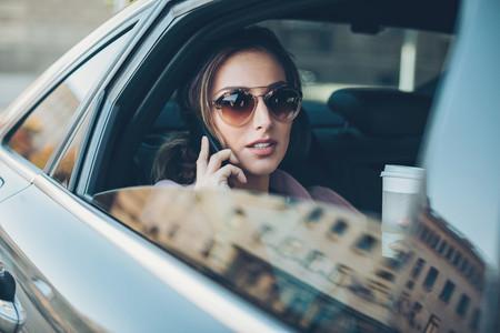 Pasajero Uber Mujer