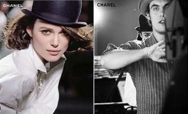 Imágenes de Keira Knightley para Chanel