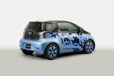 Toyota FT-EV III, vehículo concept cien por cien eléctrico