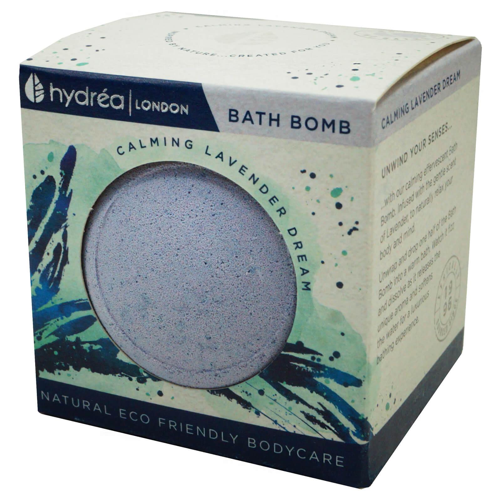 Bomba de baño eco-friendly con lavanda de Hydréa London
