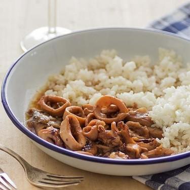 Calamares en salsa con vino de Jerez: receta