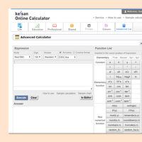 En esta web tienes disponible una calculadora avanzada Casio con hasta 130 dígitos de precisión