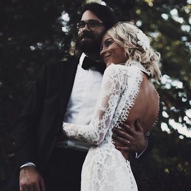 Si quieres lucir un vestido de novia con al espalda descubierta es posible que estas opciones te inspiren (y te enamoren)
