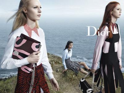 El mar y los acantilados llevan a Dior y a su campaña de Otoño-Invierno 2015/2016 a lo más alto