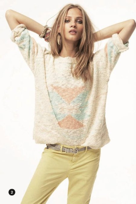 Navajo Mango lookbook primavera 2012