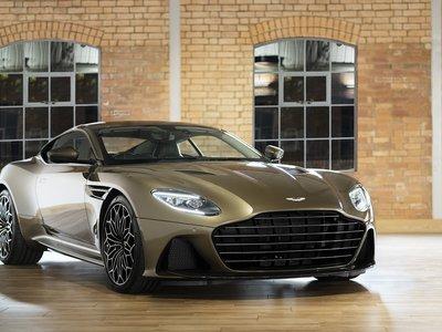 Aston Martin DBS Superleggera 007 celebra medio siglo de estar al servicio secreto de su majestad