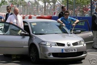 El Renault Megane RS de Fernando Alonso a la venta en eBay