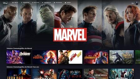Contenido de Marvel en Disney+