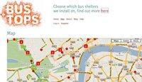 Bus Tops, encuentra la parada de tu autobús en Londres