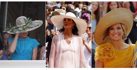 Tendencias de tocados en la boda real en Mónaco