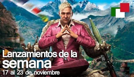 Lanzamientos de la semana en México del 17 al 23 de noviembre