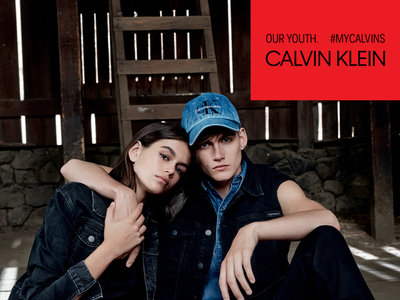 Kaia y Presley Gerber, hijos de Cindy Crawford, le quitan el puesto a Justin Bieber para protagonizar la campaña #MyCalvins