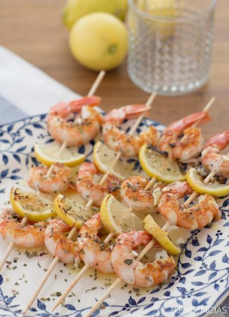 Brochetas de gambas al limón y postres veraniegos en la quincena gourmet de Trendencias Lifestyle (XXIII)