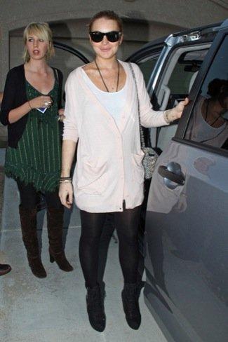 Lindsay Lohan ha vuelto. Sus últimos looks de calle: leggings, vestidos y vaqueros