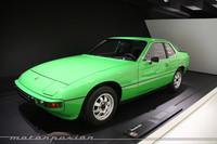 El Porsche 924 también tiene un espacio reservado en el Museo Porsche