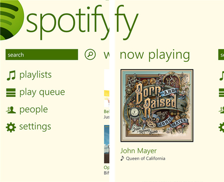 Spotify por fin llega a Windows Phone 8