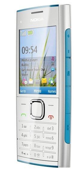Nokia X2 teclas musicales