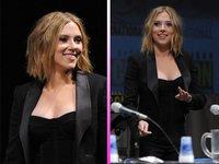 Scarlett Johansson se nos corta la melena