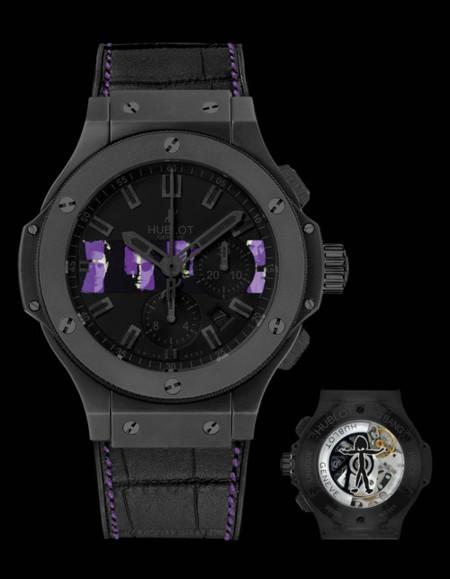 Hublot subasta una colección limitada de relojes de Depeche Mode