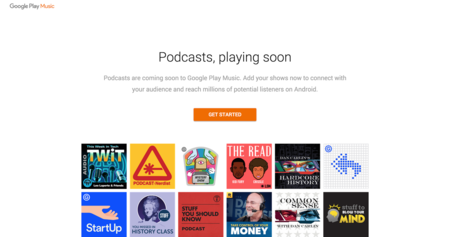 Google Play se prepara para recibir los podcasts