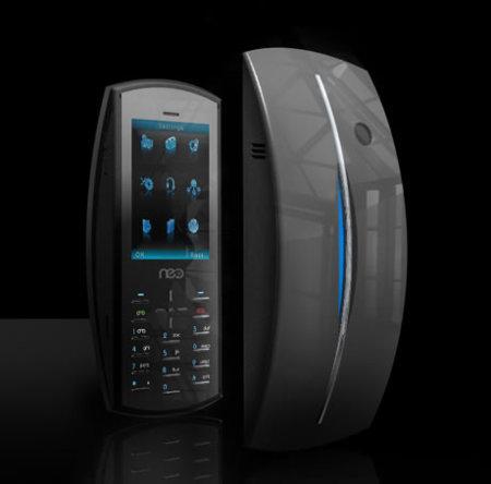 Neo Ellipse, teléfono de diseño