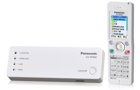 Panasonic KX-WP800, telefono Wi-Fi con Skype