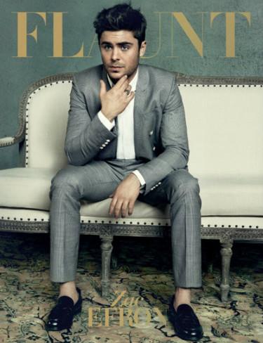 Zac Efron, o cómo seguir elegante sin peinarse y sin calcetines