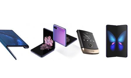 Samsung Galaxy Z Flip vs Galaxy Fold vs Motorola Razr vs Huawei Mate X: así quedan los plegables más relevantes del momento