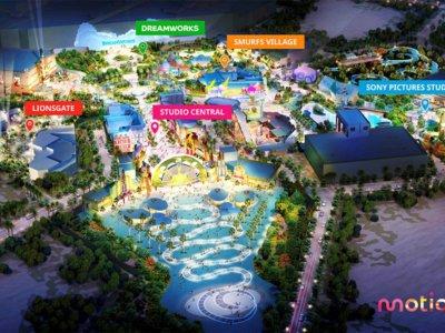 Los Pitufos, Cazafantasmas o Los Juegos del Hambre, en el nuevo parque temático de Dubai