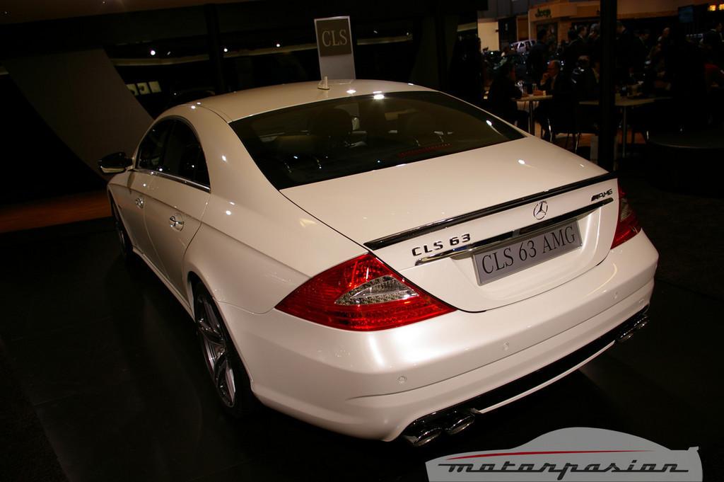 Foto de Mercedes-Benz CLS63 AMG en el salón de Ginebra (5/9)