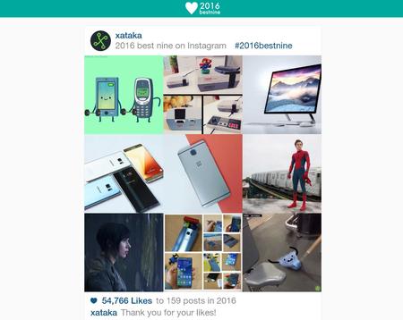 bestnine 2016 instagram