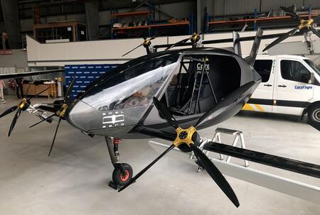 AMSL Aero Vertiaa, eVTOL ambulancia eléctrica área