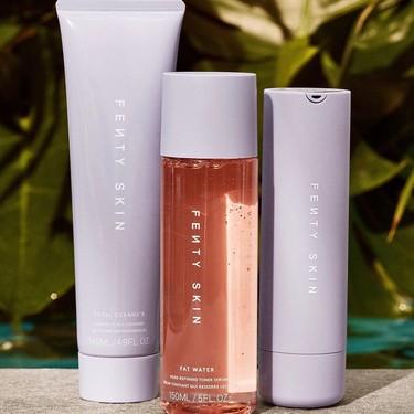 Estos son los tres productos de cuidado para la piel con los que Rihanna inaugura su nueva firma Fenty Skin y que prometen mucho