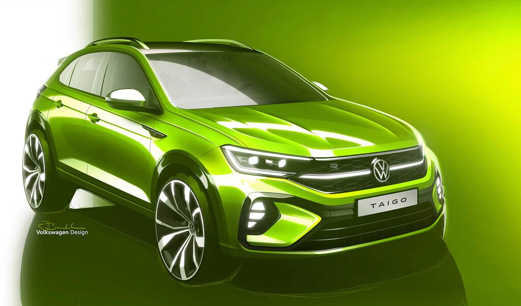 Volkswagen Taigo es el nombre del nuevo SUV coupé 'made in Spain' de la firma alemana y se desvelará en verano