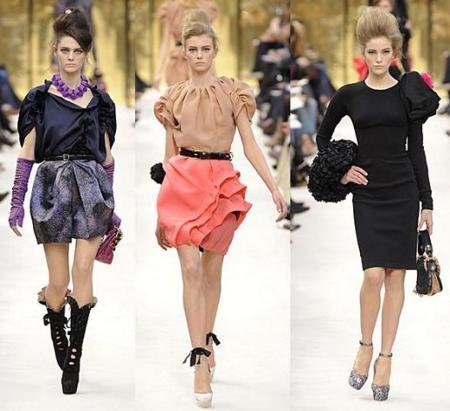 Louis Vuitton Otoño-Invierno 2009/2010 en la Semana de la Moda de París