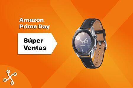 Compra el smartwatch más avanzado de Samsung casi a mitad de precio en el Amazon Prime Day: el Galaxy Watch 3 a menos de 200 euros