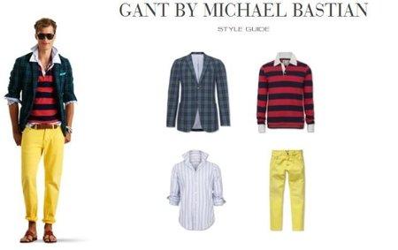 michael bastian gant primavera verano 2012