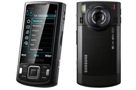 Samsung Bresson M8800 con pantalla táctil y cámara de 8 megapíxeles