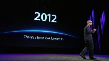 Tim Cook, un 2012 prometedor