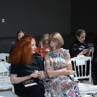 Grace Coddington y Anna Wintour